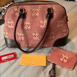 Dooney & Bourke Red Satchel Bag